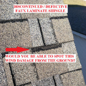 discontinued defective shingles lexington ky