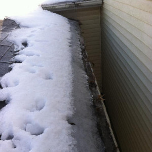 snow caused roof leak lexington ky