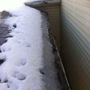 snow storm roof leak lexington ky