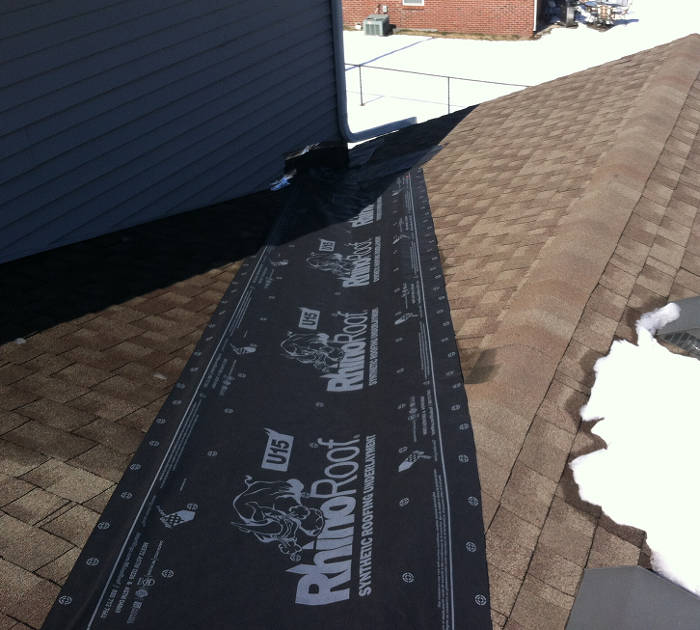synthetic felt roof patch wilmore ky