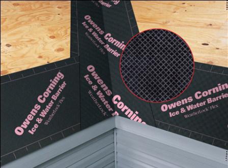 owens corning weatherlock ice water shield barrier