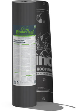 rhinoroof synthetic felt underlayment