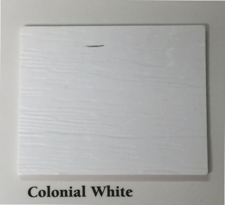 colonial white colored siding we install in lexington ky