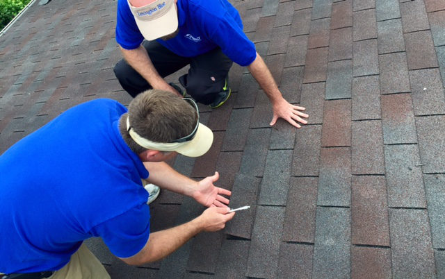 roof material inspection lexington ky