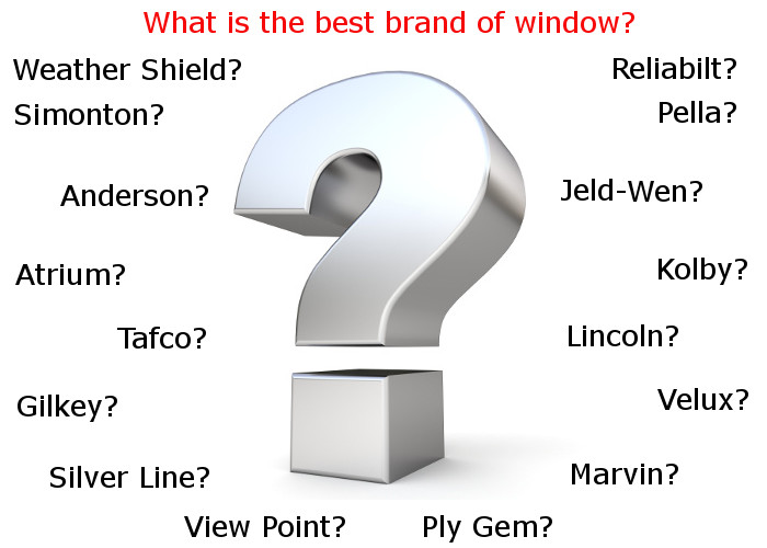 what are the best brands of windows in lexington ky