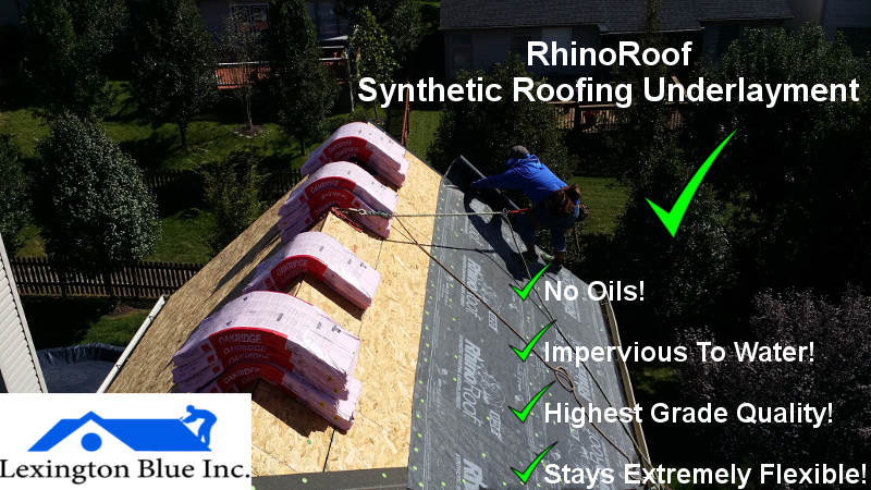rhinoroof best quality roofing felt lexington ky