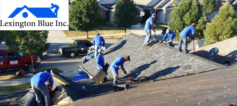 tearing off roof lexington ky