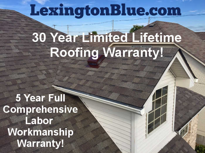 best roofing warranty lexington ky