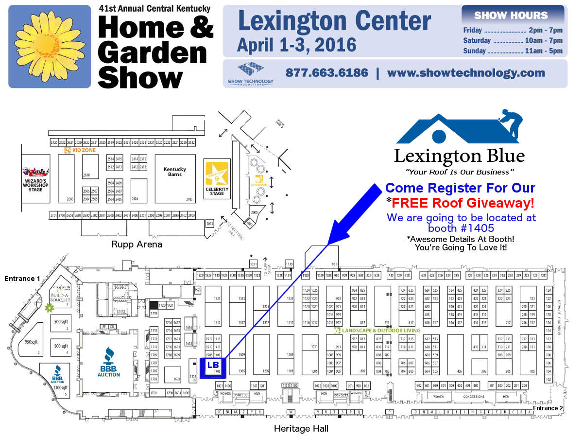 Home garden show lexington ky april 1 3 2016 win a free House map online free