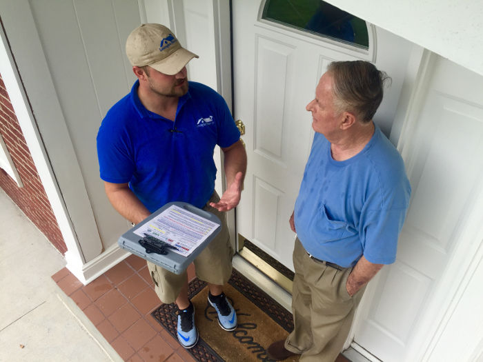 assisting homeowner with insurance claim