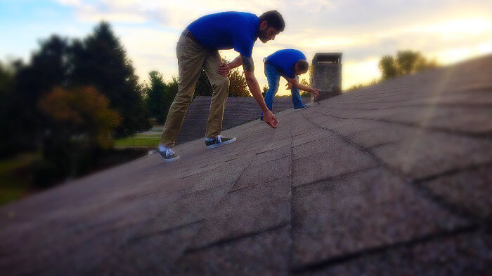 inspecting roof in lexington ky