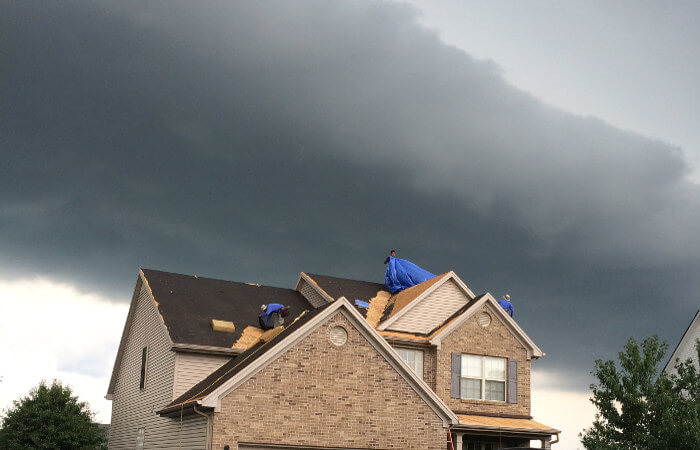 roofing before spring weather lexington ky