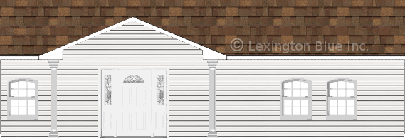 white vinyl siding home aged cedar colored shingle