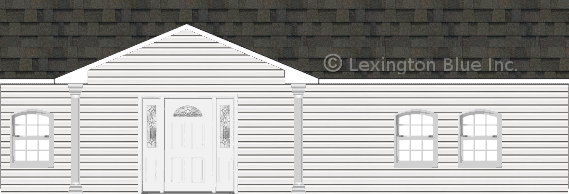 white vinyl siding home peppermill gray colored shingle
