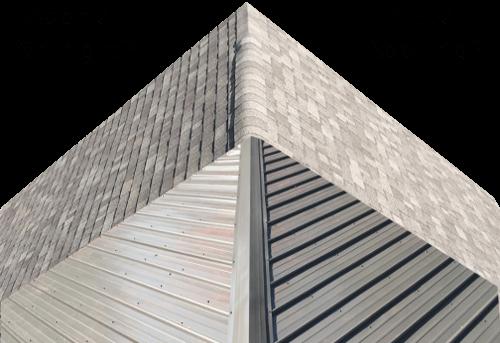 choosing between asphalt shingle metal roofing