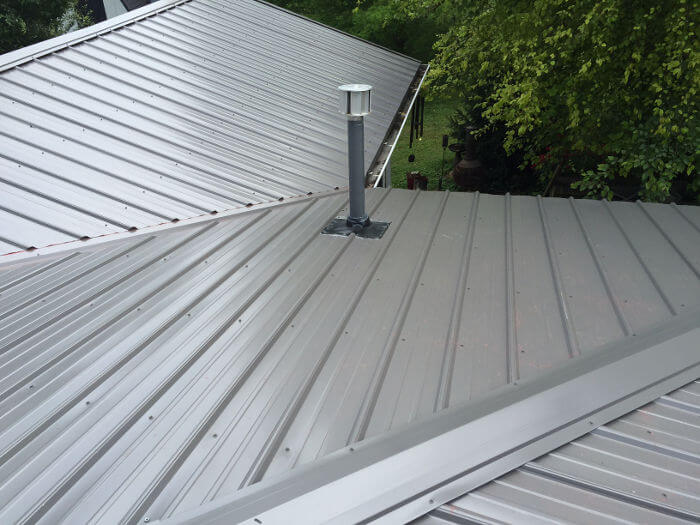 completed metal roof install 4 11-2-16