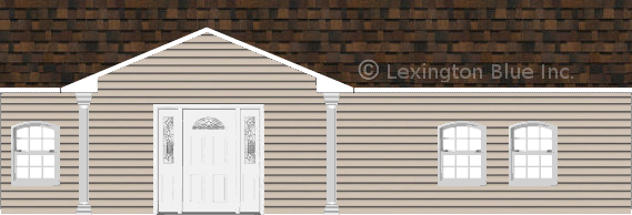 gray vinyl siding home brownwood colored shingle