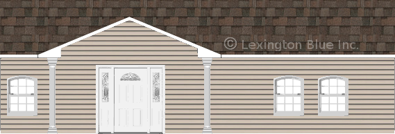 gray vinyl siding home flagstone colored shingle