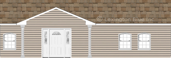 gray vinyl siding home sand castle colored shingle