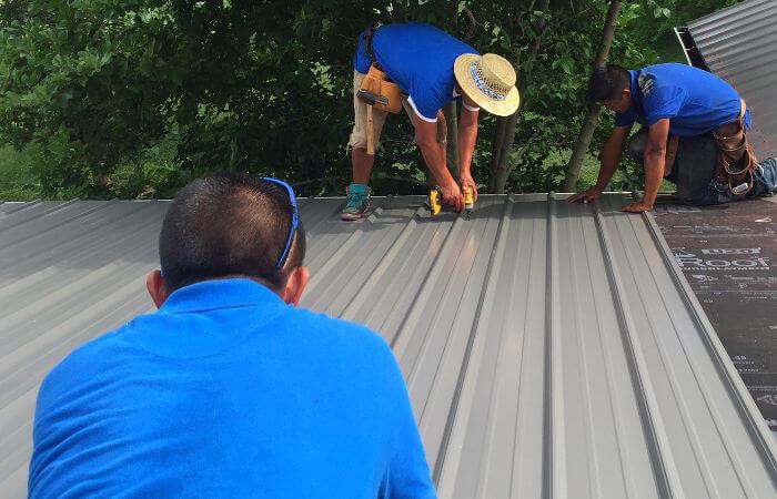metal roof installation lexington ky
