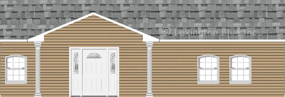 tan vinyl siding home sierra gray colored shingle