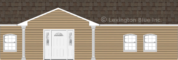 tan vinyl siding home tweak colored shingle