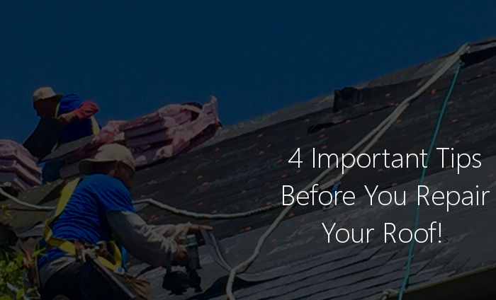 4 tips roof repair lexington ky