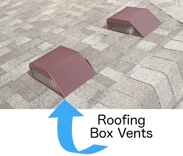 roofing box vents