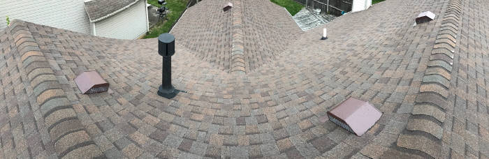 completed roof installation lexington ky 5-19-17