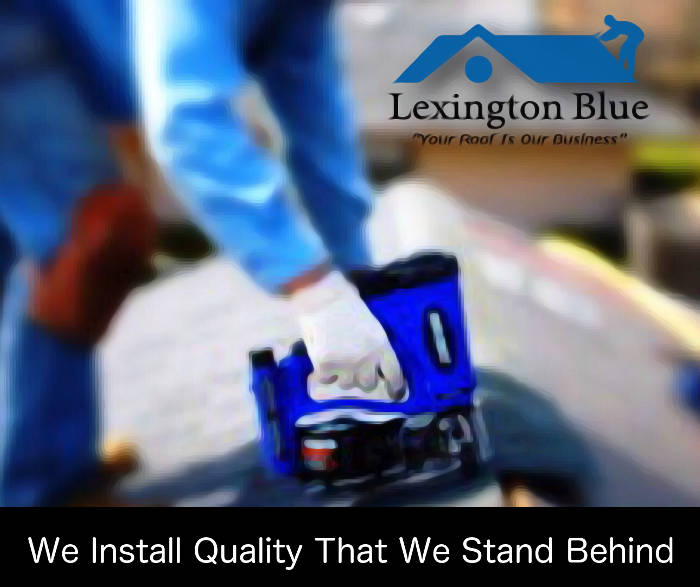 quality roofing warranties we stand behind