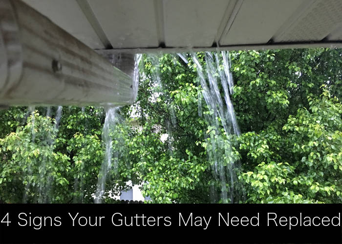 4 signs gutters need replaced lexington ky