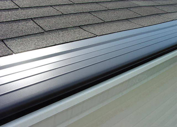 gutters with leaf guard