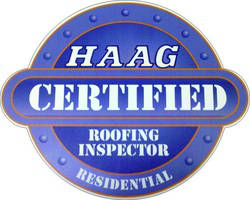 haag cert roofing inspectors