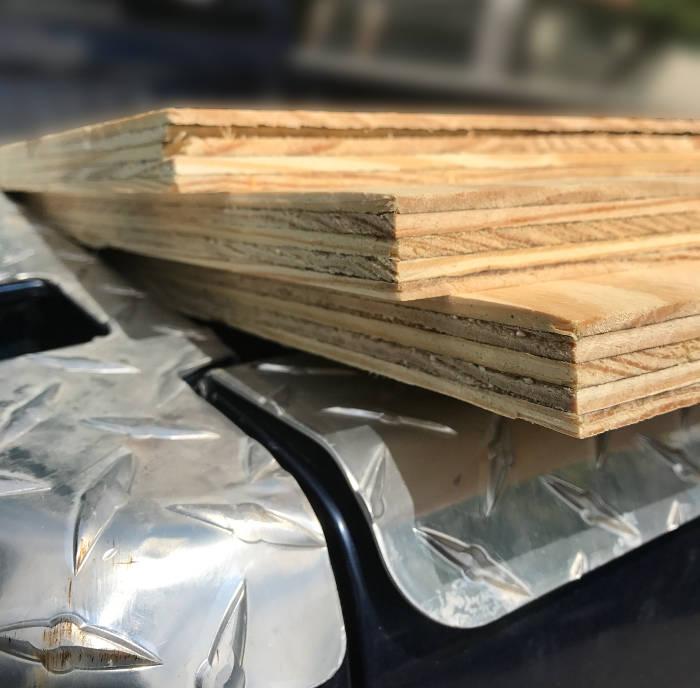 wood decking inventory