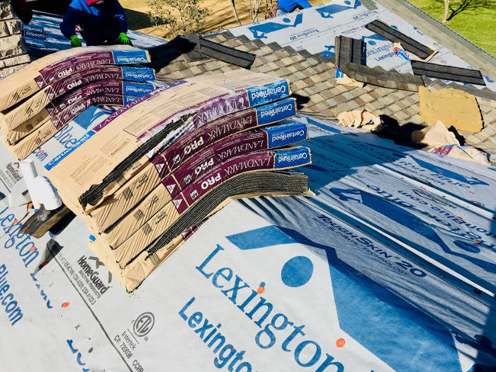 installing certainteed landmark shingles 10-13-17