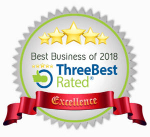 three best rated roofing contractors award