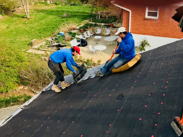 removing remaining shingles 4-6