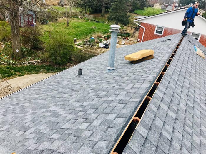 shingles installed 4-6