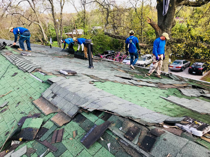 removing two layers of shingles 4-26