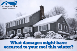 Snow on roofing system